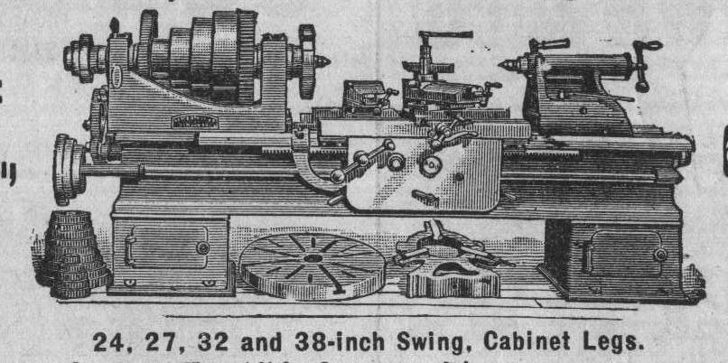 My Lodge And Davis Lathe And My Sloan Amp Chase Lathe And
