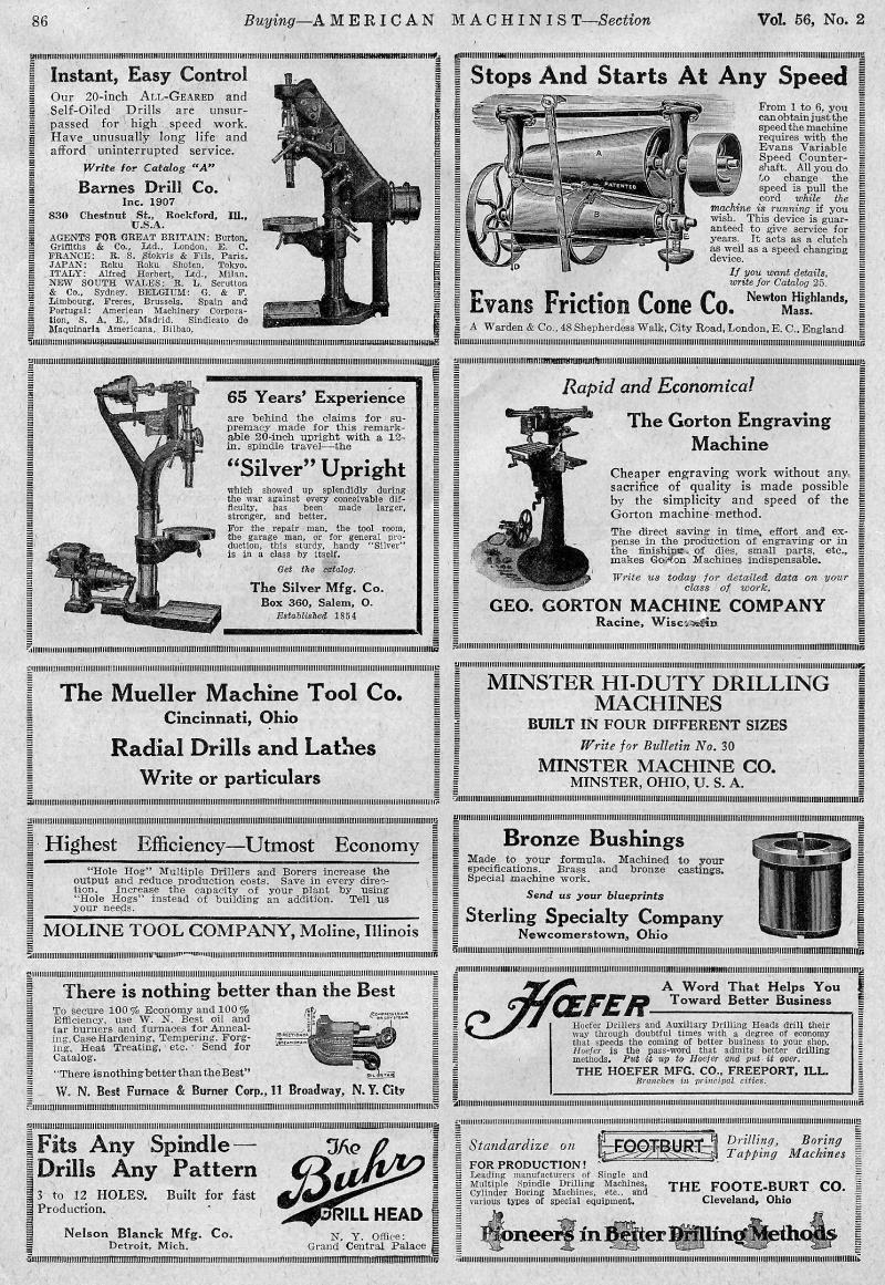 Machinery-Magizine-January-19-1922-Gorton-Panagrph